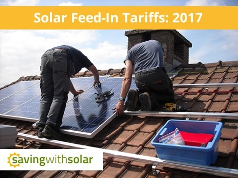 Australian Solar Feed-In Tariffs 2017