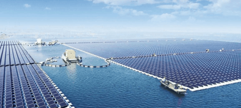 Floating Solar Energy Farm in China
