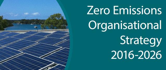 Noosa Solar - Zero Emissions Organisational Strategy