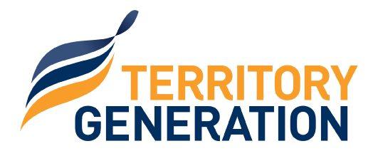 Territory Generation Logo - Alice Springs Solar