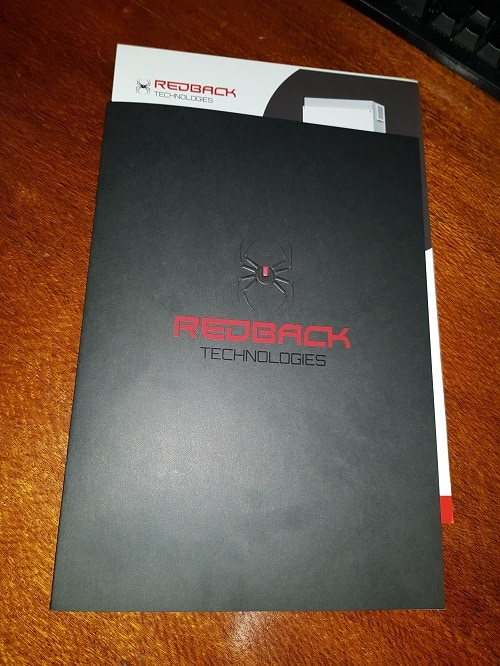 Redback Technologies Product Range