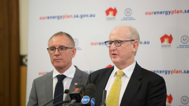 Renewable Energy in South Australia Jay Weatherill