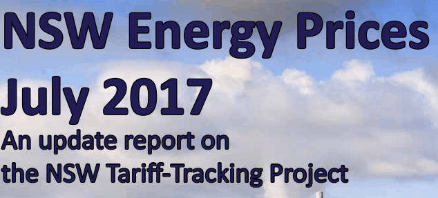 2017 NSW Tariff-Tracking Project Report Vinnies
