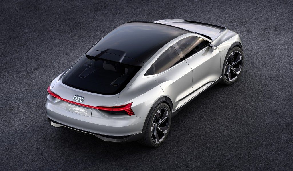 Audi Solar Car Roof E-Tron