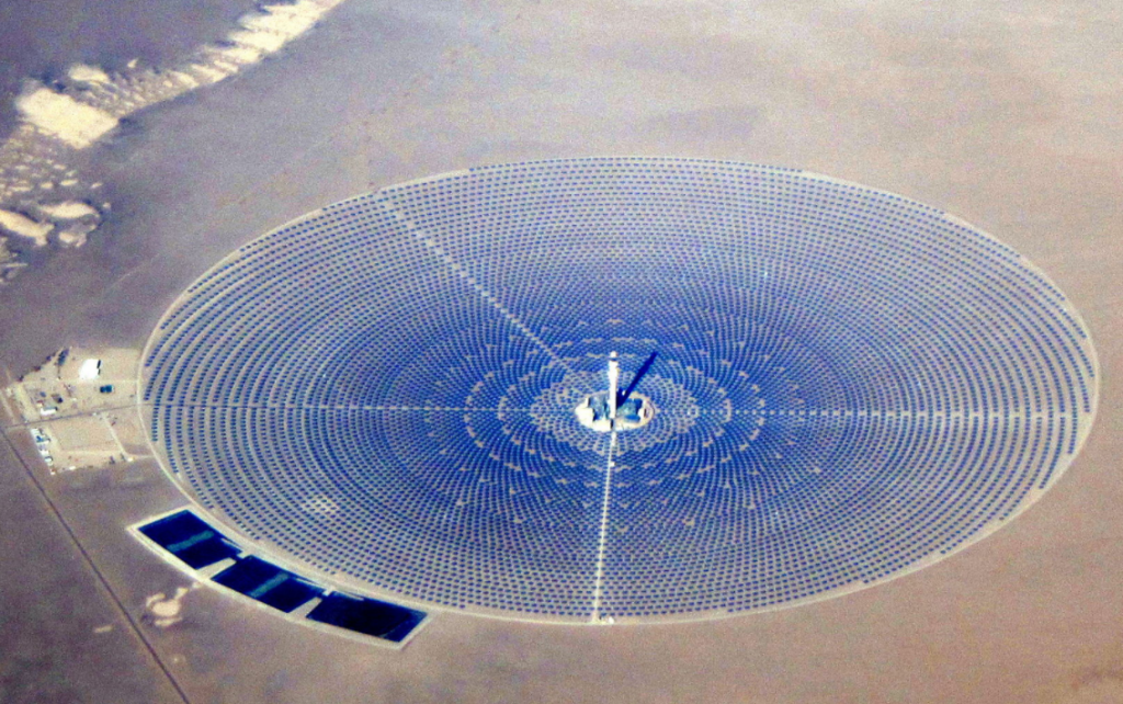 Crescent Dunes Solar Thermal Power Plant