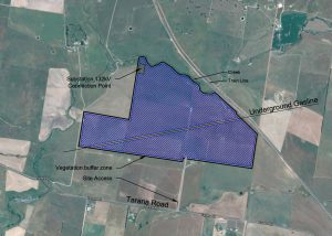 Brewongle Solar Farm Proposed Location