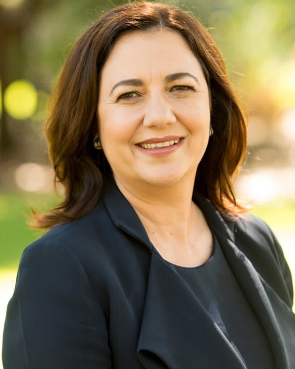 Annastacia Palaszczuk - No-interest solar loans in QLD