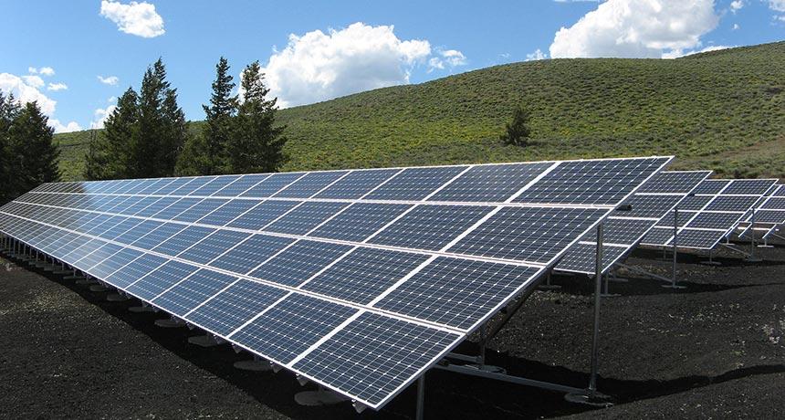 Northern-Facing Solar Panels