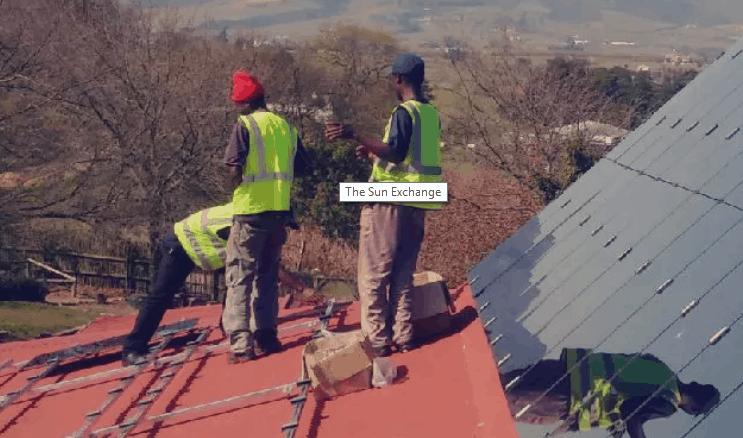 Sun Exchange - Africa Solar Power Investment through Bitcoin/Blockchain Technology