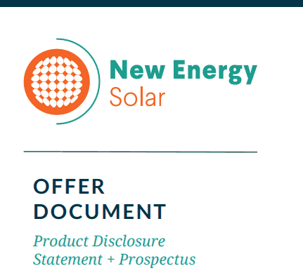 New Energy Solar ASX IPO