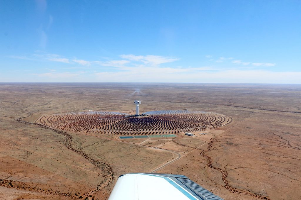 Solar Thermal Power Station Khi Solar One, South Africa