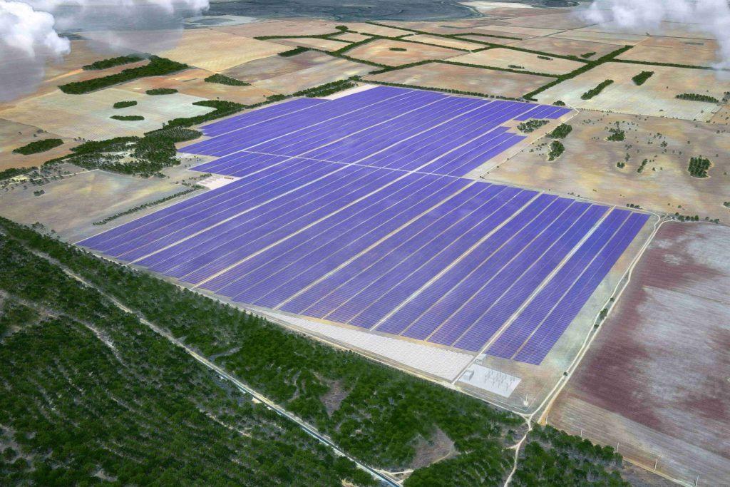 Australia's largest solar plant - Sunraysia Solar Farm