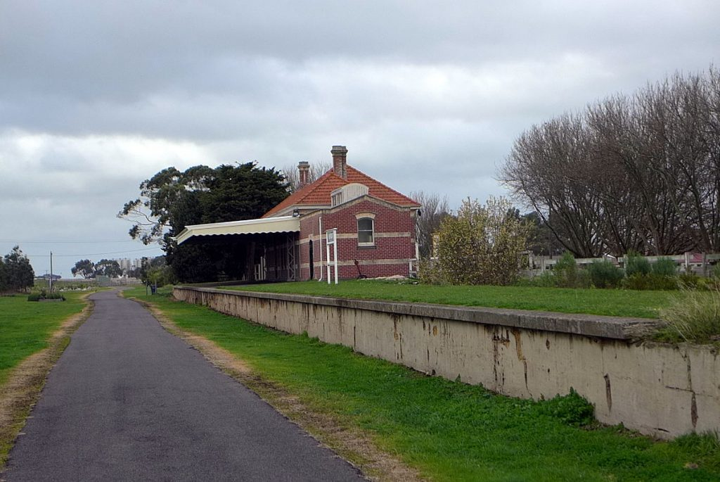 Koroit Railway Station - Location for the Solar Barbecue