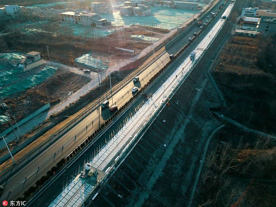 Solar Roads in China