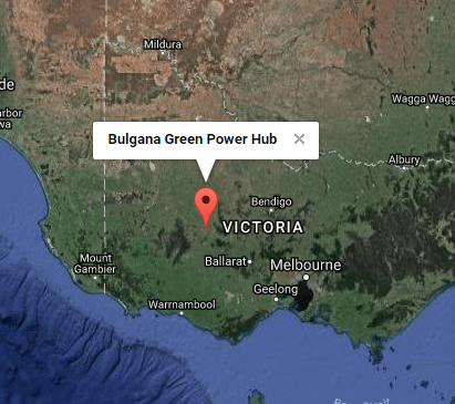 Bulgana Green Power Hub Location