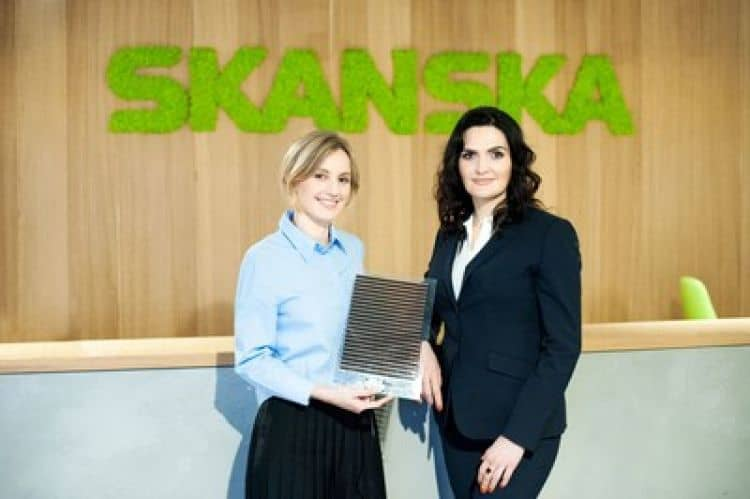 Perovskite Solar Panels - Saule Technologies and Skanska Group in Poland