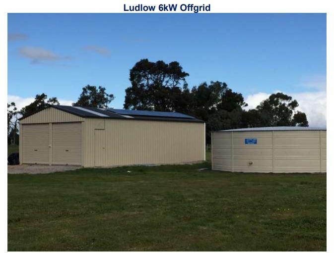 WA Electricity Grid - Sunwise - Ludlow Solar Installation