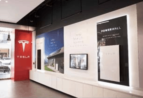Tesla Energy Display - Tesla Powerwall in 2018
