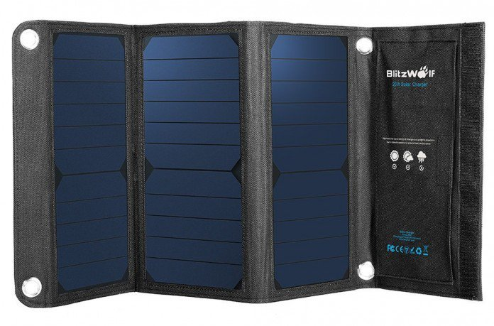 BlitzWolf BW-L1 Solar Charger Battery Charger
