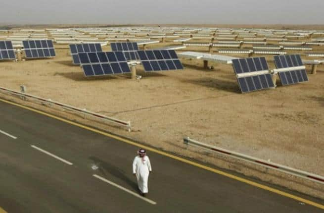 World's biggest solar farm - Saudi Arabia