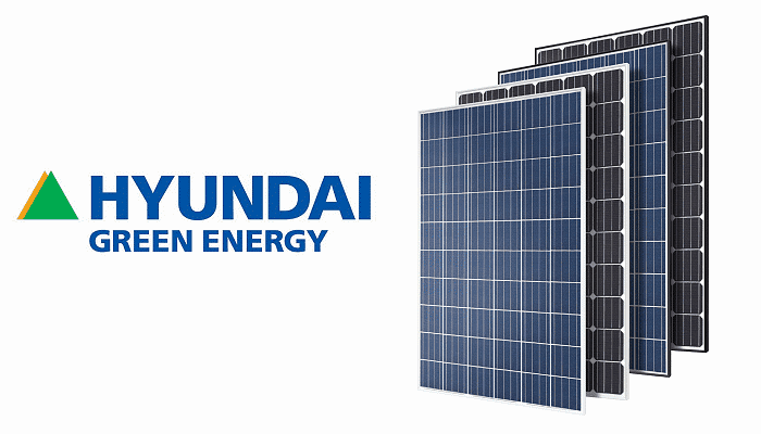 Hyundai Solar Panels - Green Energy