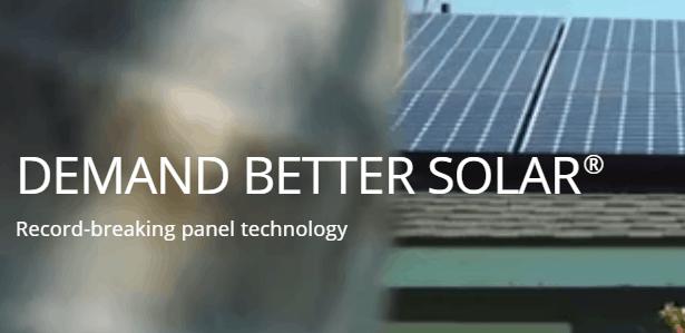 Solar panels on new homes - sunpower