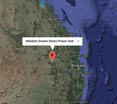 The Western Downs green power hub