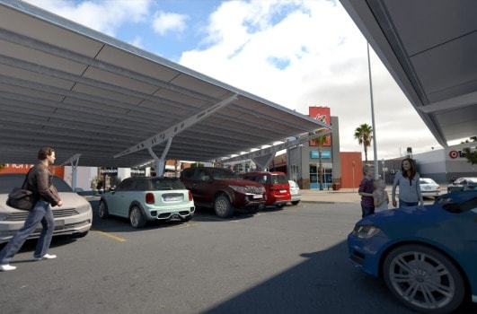 Vicinity Centres Solar Project