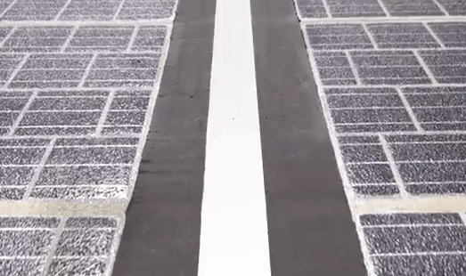Solar Highways in China (source: YouTube)