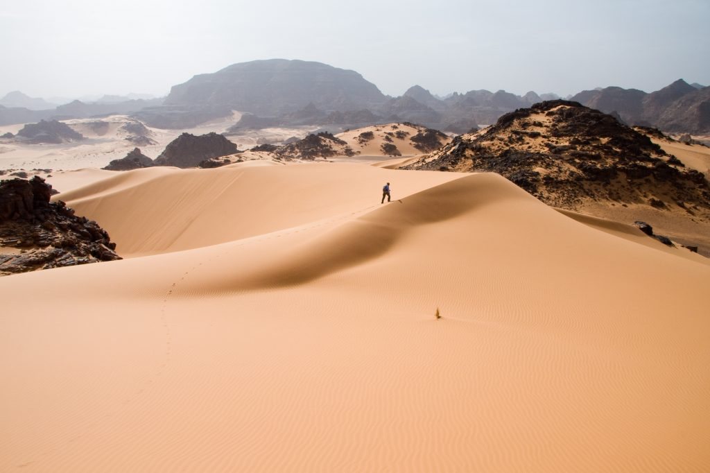 The Sahara Desert (source: Wikipedia)