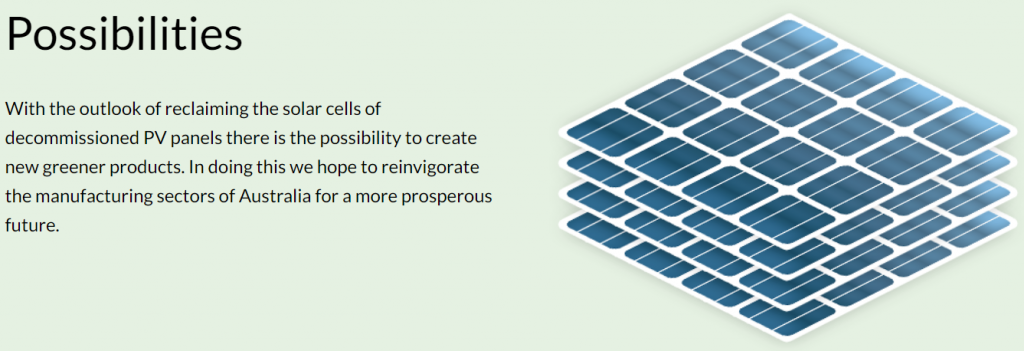 Reclaim PV: Recycling Solar Panels