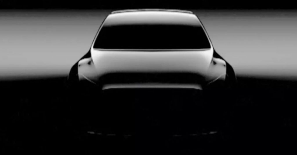 Tesla in 2019 - Tesla Model Y (source: Tesla)